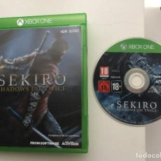 Xbox One: SEKIRO SHADOWS DIE TWICE XBOX ONE XONE KREATEN CASTELLANO . Lote 156622382