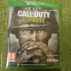 Xbox One: CALL OF DUTY WWII XBOX ONE PRECINTADO. Lote 158116374
