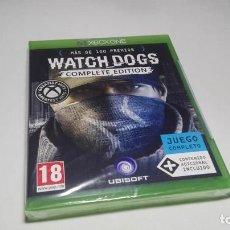 Xbox One: WATCH DOGS - COMPLETE EDITION ( XBOX ONE _ PAL - ESP) PRECINTADO!. Lote 158589906