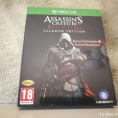 Xbox One: ASSASSINS CREED BLACK FLAG JACKDAW EDITION XBOX ONE PRECINTADO. Lote 161618154
