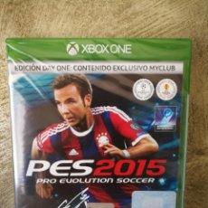 Xbox One: PES 2015 XBOX ONE PRECINTADO . Lote 161618734