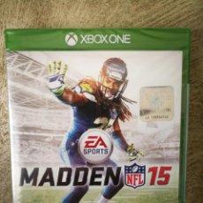Xbox One: MADDEN NFL 15 XBOX ONE PRECINTADO . Lote 161704898