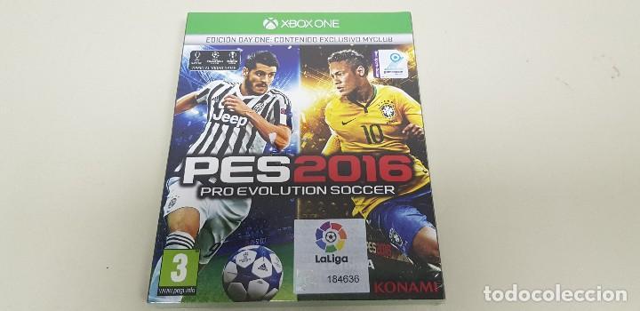 619-PES 2016 XBOX ONE EDICION DAY ONE VERSION ESPAÑOLA NUEVO PRECINTADO (Juguetes - Videojuegos y Consolas - Xbox One)