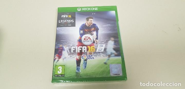 619- FIFA 16 XBOX ONE VERSION ESPAÑOLA NUEVO PRECINTADO (Juguetes - Videojuegos y Consolas - Xbox One)
