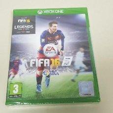 Xbox One: 619- FIFA 16 XBOX ONE VERSION ESPAÑOLA NUEVO PRECINTADO. Lote 167116696