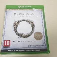 Xbox One: 619- THE ELDER SCROLLS ONLINE TAMRIEL UNLIMITED XBOX ONE VERSION ESPAÑOLA PRECINTADO. Lote 167116972