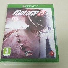 Xbox One: 619- MOTOGP 15 XBOX ONE VERSION ESPAÑOLA NUEVO PRECINTADO. Lote 167117804