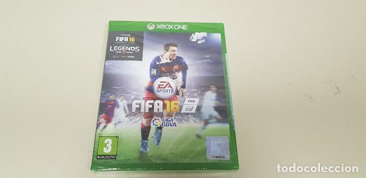 619- FIFA 16 XBOX ONE VERSION ESPAÑOLA NUEVO PRECINTADO NUM2 (Juguetes - Videojuegos y Consolas - Xbox One)