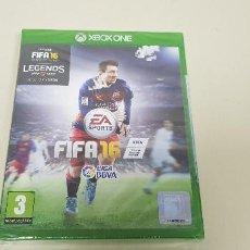 Xbox One: 619- FIFA 16 XBOX ONE VERSION ESPAÑOLA NUEVO PRECINTADO NUM2. Lote 167118008