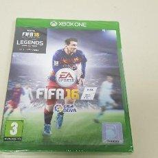 Xbox One: 619- FIFA 16 XBOX ONE VERSION ESPAÑOLA NUEVO PRECINTADO NUM3 . Lote 167118760