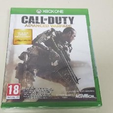 Xbox One: 619- CALL OF DUTY ADVANCED WARFARE XBOX ONE VERSION ESPAÑOLA NUEVO PRECINTADO. Lote 167119572