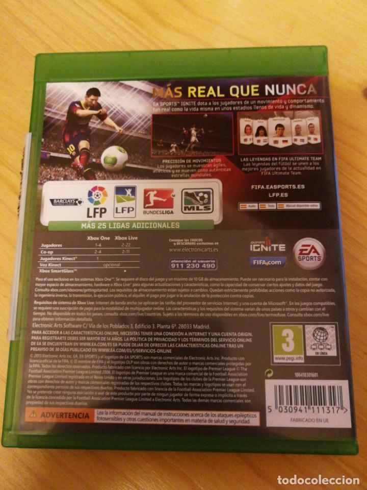 Xbox One: XBOX ONE- FIFA 14 - Foto 2 - 167626392
