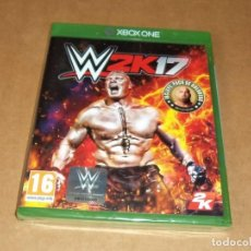 Xbox One: WWE 2K17 PARA MICROSOFT XBOX ONE, A ESTRENAR, PAL. Lote 167626636