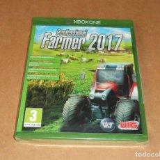Xbox One: PROFESSIONAL FARMER 2017 PARA MICROSOFT XBOX ONE, A ESTRENAR, PAL. Lote 167626920