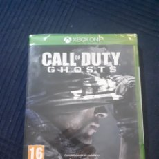 Xbox One: CALL OF DUTY GHOSTS XBOX ONE PRECINTADO CASTELLANO. Lote 169745028