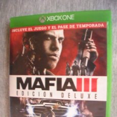 Xbox One: MAFIA 3 III XBOX ONE PAL ESPAÑA. Lote 173044729