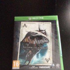 Xbox One: VIDEOJUEGO XBOX ONE BATMAN RETURN TO ARKHAM PRECINTADO. Lote 174432913