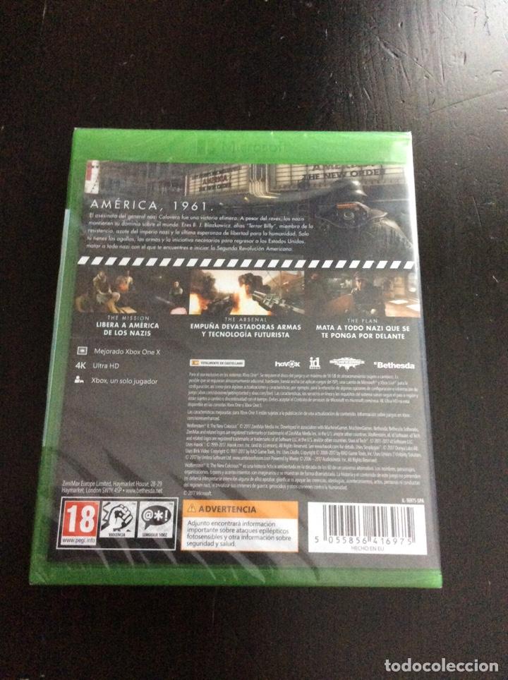 Xbox One: Videojuego Xbox One Wolfenstein II precintado - Foto 2 - 174433922