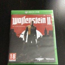 Xbox One: VIDEOJUEGO XBOX ONE WOLFENSTEIN II PRECINTADO. Lote 174433922