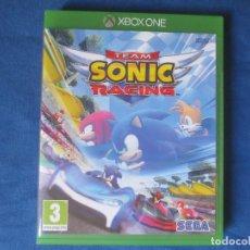 Xbox One: XBOX ONE - TEAM SONIC RACING - PAL ESPAÑA - MEJORADO PARA XBOX ONE X - TOTALMENTE EN CASTELLANO. Lote 175966899