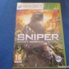 Xbox One: XBOX 360 - SNIPER GHOST WARRIOR - PAL ESPAÑA - DIFÍCIL DE CONSEGUIR. Lote 176077983