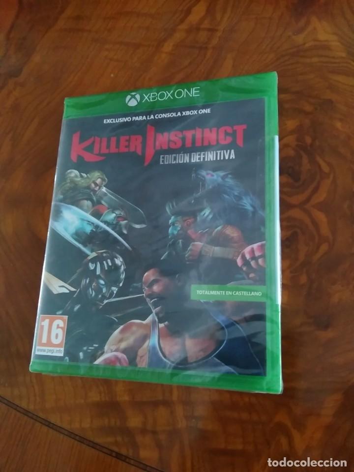 JUEGO XBOX ONE KILLER INSTINCT DEFINITIVE EDITION PAL ESPAÑA PRECINTADO (Juguetes - Videojuegos y Consolas - Xbox One)