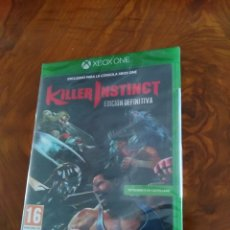Xbox One: JUEGO XBOX ONE KILLER INSTINCT DEFINITIVE EDITION PAL ESPAÑA PRECINTADO. Lote 177045267