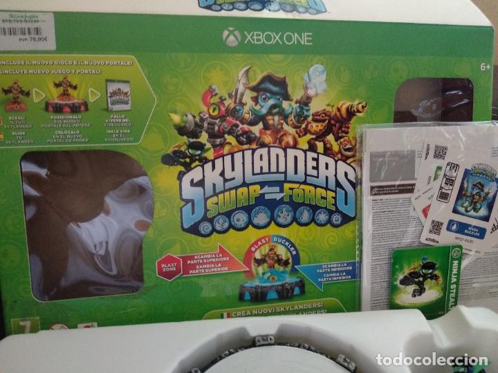Xbox One: Skylanders Xbox one base + 3 figuras - Foto 4 - 177075425