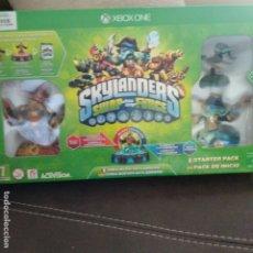Xbox One: SKYLANDERS XBOX ONE BASE + 3 FIGURAS. Lote 177075425