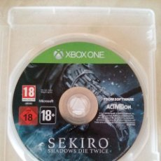 Xbox One: SEKIRO · SHADOWS DIE TWICE - FROM SOFTWARE - XBOX ONE. Lote 177879730