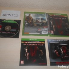 Xbox One: XBOX ONE - METAL GEAR SOLID V - THE PHANTOM PAIN , PAL UK , COMPLETO. Lote 177947467