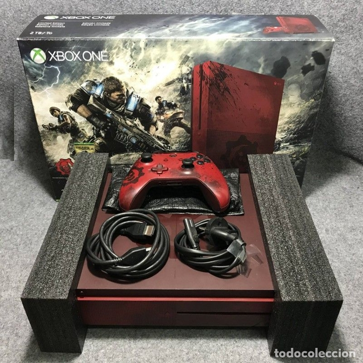 CONSOLA MICROSOFT XBOX ONE S 2TB GEARS OF WAR 4 PACK (Juguetes - Videojuegos y Consolas - Xbox One)