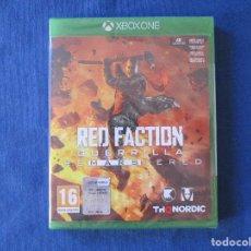 Xbox One: XBOX ONE - RED FACTION GUERRILLA REMARSTERED - PAL ESPAÑA - MEJORADO XBOX ONE X - NUEVO Y PRECINTADO. Lote 181447328
