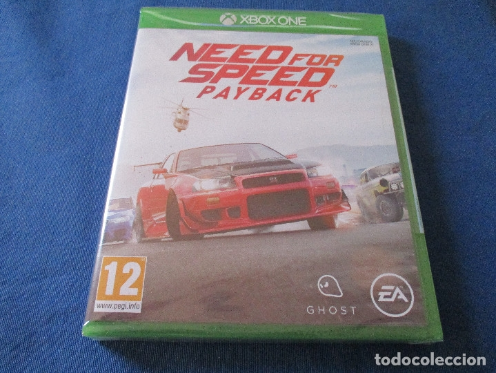 Xbox One: XBOX ONE - NEED FOR SPEED PAYBACK - PAL ESPAÑA - MEJORADO XBOX ONE X - NUEVO Y PRECINTADO - Foto 1 - 181453043