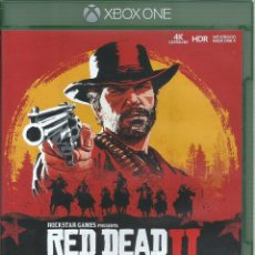 Xbox One: RED DEAD REDEMPTION II. Lote 182922611