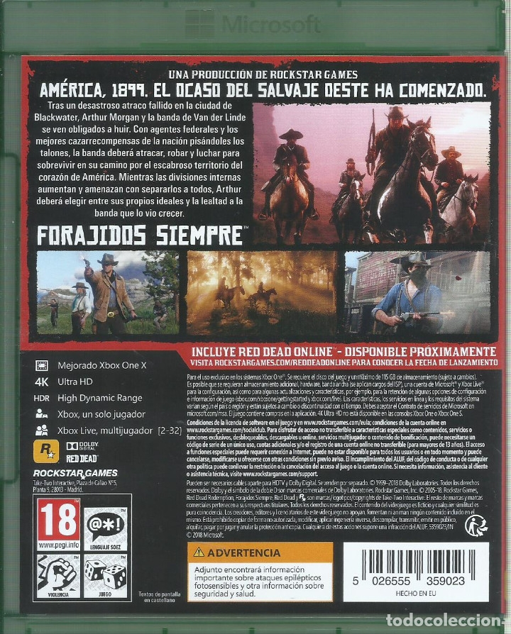 Xbox One: Red Dead Redemption II - Foto 2 - 182922611