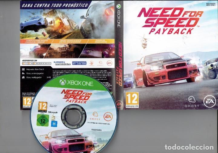 NEED FOR SPEED PAY BACK MEJORADO XBOXONE X. (Juguetes - Videojuegos y Consolas - Xbox One)