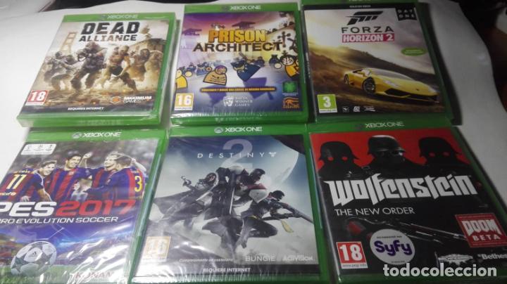 LOTE / PACK 6 JUEGOS XBOX ONE ( TODOS EN CASTELLANO Y PRECINTADOS!) (Juguetes - Videojuegos y Consolas - Xbox One)