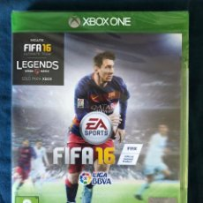 Xbox One: FIFA 16 XBOX ONE PRECINTADO!!!. Lote 187396062