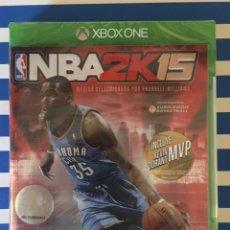 Xbox One: NBA 2K15 XBOX ONE PRECINTADO!!!. Lote 187396127