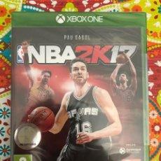 Xbox One: NBA 2K17 XBOX ONE PRECINTADO!!!. Lote 187396281