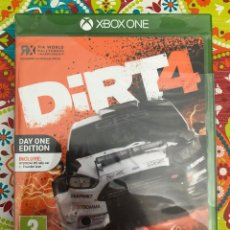 Xbox One: DIRT 4 XBOX ONE PRECINTADO!!!. Lote 187396313