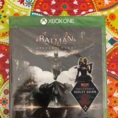 Xbox One: BATMAN: ARKHAM KNIGHT XBOX ONE PRECINTADO!!!. Lote 187396325