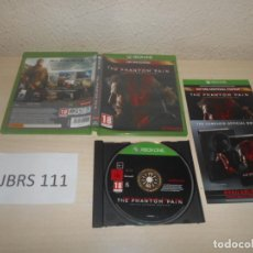 Xbox One: XBOX ONE - METAL GEAR SOLID V , DAY ONE EDITION , PAL UK , COMPLETO. Lote 187531376