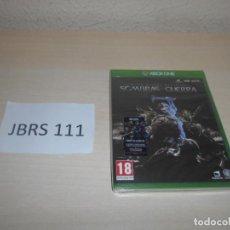 Xbox One: XBOX ONE - EL SEÑOR DE LOS ANILLOS , SOMBRAS DE GUERRA , PAL ESPAÑOL , PRECINTADO. Lote 187531525