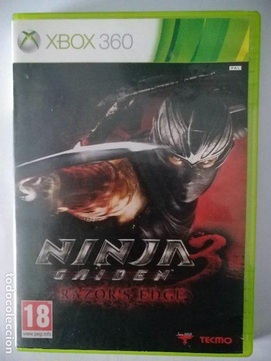 Ninja Gaiden 3 Razor S Edge Pal Espana Xbox 360 Sold Through