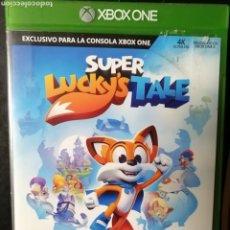 Xbox One: JUEGO SUPER LUCKY'S TALE PARA MICROSOFT XONE. Lote 189302670