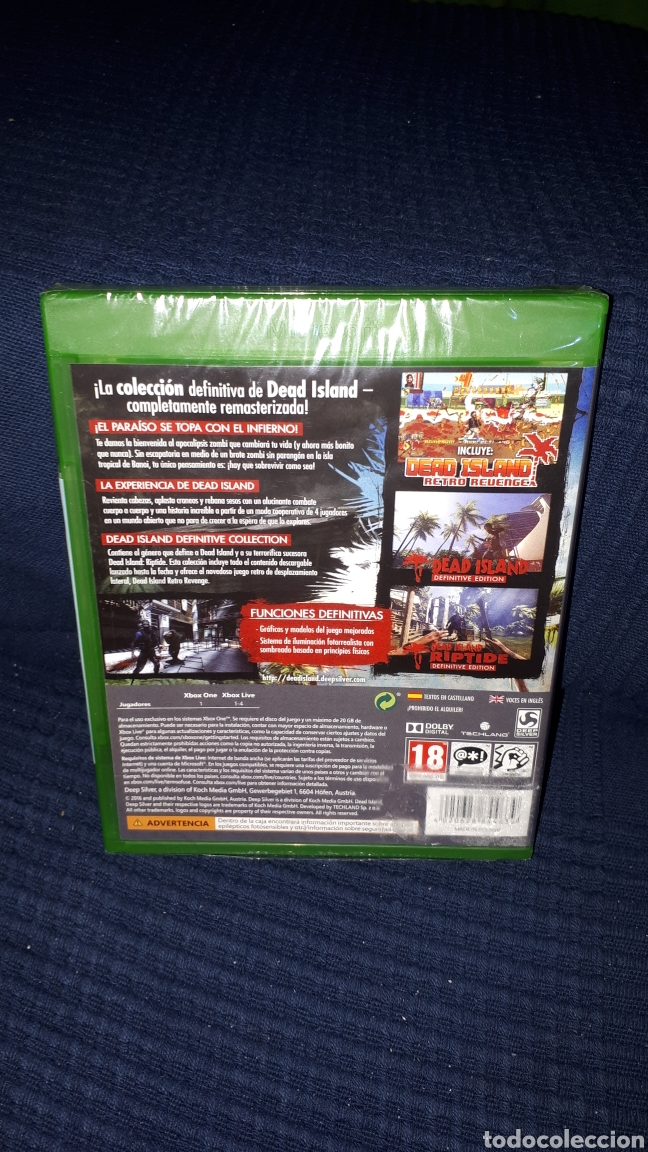 Xbox One: DEAD ISLAND XBOX ONE PRECINTADO - Foto 2 - 189807303