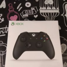 Xbox One: CAJA VACIA MANDO INALAMBRICO NEGRO XBOX ONE. WIRELESS CONTROLLER BLACK. Lote 191614900