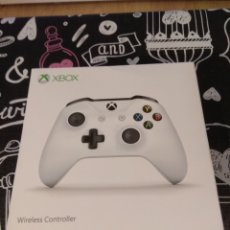 Xbox One: CAJA VACIA MANDO INALAMBRICO XBOX ONE BLANCO. WIRELESS CONTROLLER WHITE. Lote 191617607